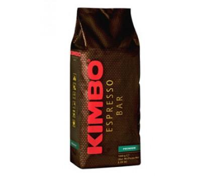Кофе Kimbo Premium (85% Арабика 15% Робуста) в зерне, 1кг