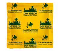 Кофе La Semeuse Don Marco (80% Арабика, 20% Робуста) чалды, 150шт х7г