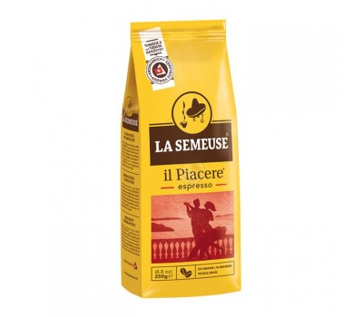 Кофе La Semeuse IL PIACERE (90% Арабика , 10% Робуста) 250 грамм в зернах