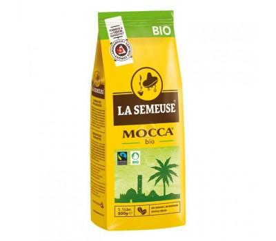 Кофе La Semeuse MOCCA BIO Срок до 26.11.2021г. (100% БИО Арабика) в зерне, 500 гр