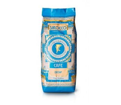 Кофе Sirocco Decaf (100% Арабика без кофеина) в зернах, 250 грамм