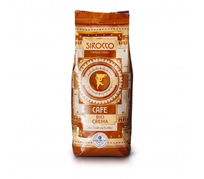 Кофе Sirocco Bio-Crema (100% Арабика) в зерне, 500 грамм
