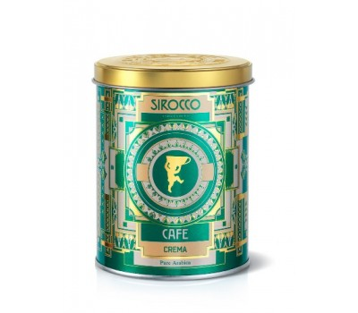 Кофе Sirocco Crema (100% Арабика) 250 грамм